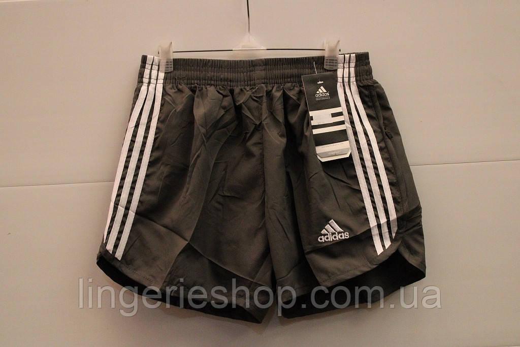 Шорты Спорт мужские adidas цвет серый