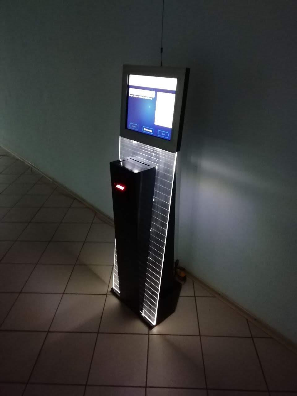 Платежный терминал. Внутренний КОСМОС+ (с LED подсветкой)