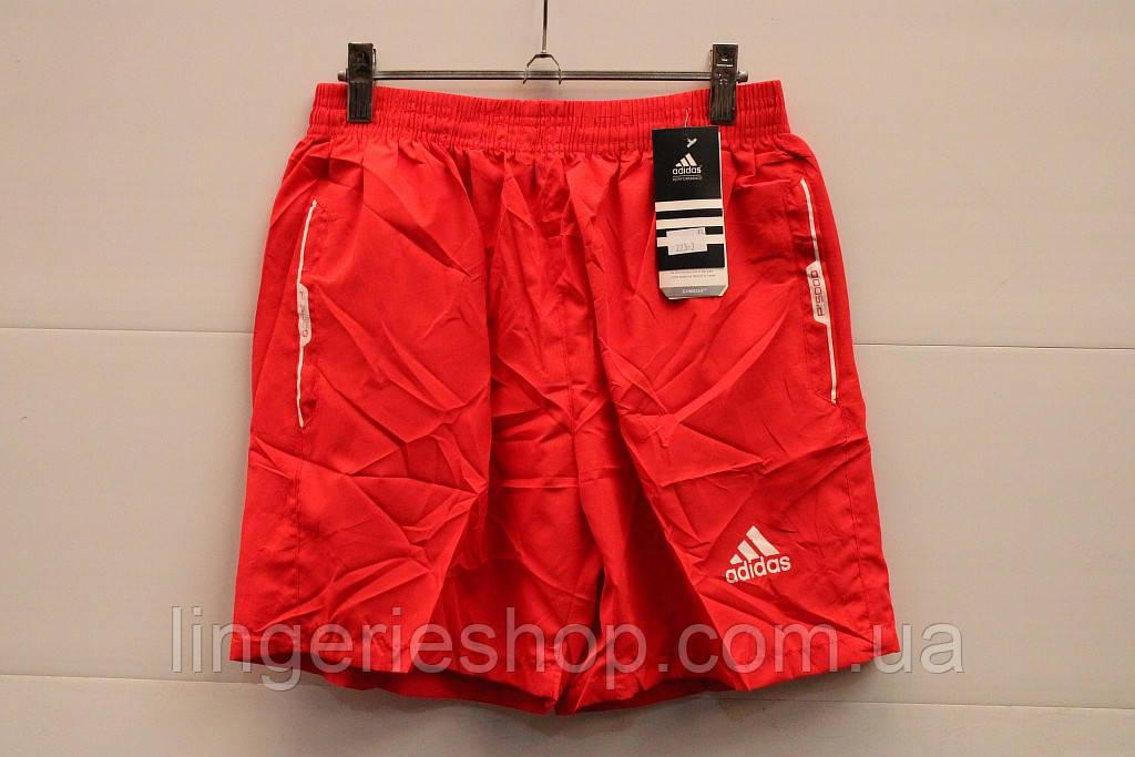 Шорты Спорт мужские adidas красный