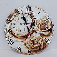 """Часы из фанеры с полноцветной печатью """"Карманные часы"""""""