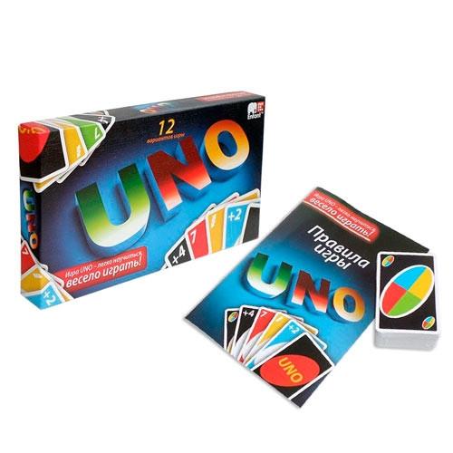 Настольная карточная игра UNO Уно 12 вариантов, эконом 2005-05649