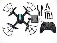 Квадрокоптер с камерой LH-X43W WiFi Черный, фото 1