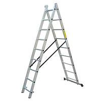 Лестница универсальная 2х9 ступ. Werk LZ2109Q (36785)