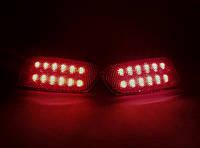 Катафот заднего бампера ВАЗ 2172 Приора светодиодный