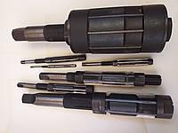 Развертки ручные регулируемые с раздвижными ножами для окончательной обработки отверстий.