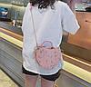 Элегантная круглая сумочка в форме сердца, фото 4