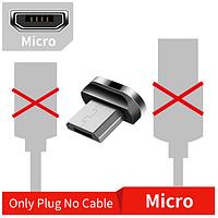 Коннектор (магнитик) Micro-USB для магнитной зарядки Essager (3А), фото 1