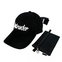 Кепка Intruder чоловіча | жіноча чорна брендовий + Фірмовий подарунок, фото 1
