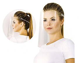 Медицинский щиток маска, защитный экран, для лица. Высокий уровень защиты от вирусов.