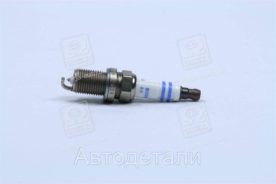 Свеча зажигания FR7KPP33U+ DOUBLE PLATINUM (MB,HONDA) (пр-во BOSCH) 0242236544