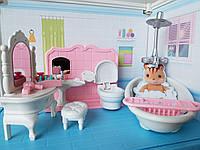 Ванная комната для кукол, подойдет для лол