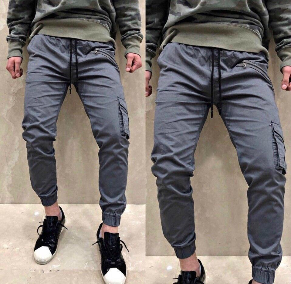 Светло-серые штаны