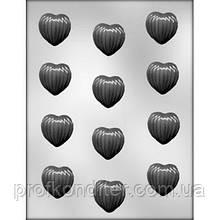 Пластиковый Молд для шоколада и мастики Шоколадное сердце