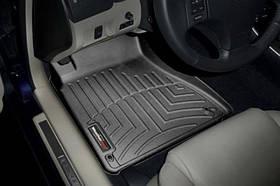 Ковры резиновые WeatherTech Lexus IS 2WD 2006-2012 передние черные