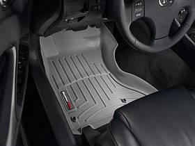 Ковры резиновые WeatherTech Lexus IS AWD 2006-2012 передние серые