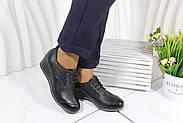 Осенние кожаные туфли на танкетке Sas 32-19-04, фото 6