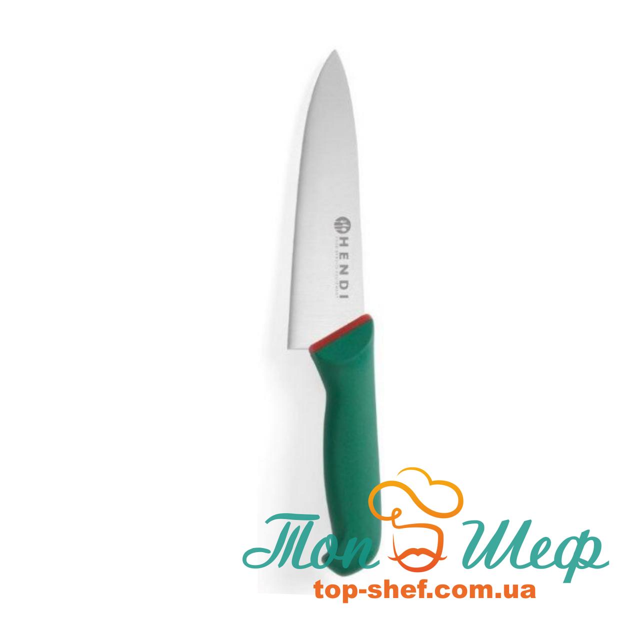Нож шеф-повара 220/360 Green Line Hendi 843307