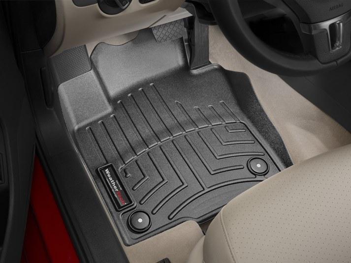 Ковры резиновые WeatherTech VW Jetta 2010-2019 передние черные