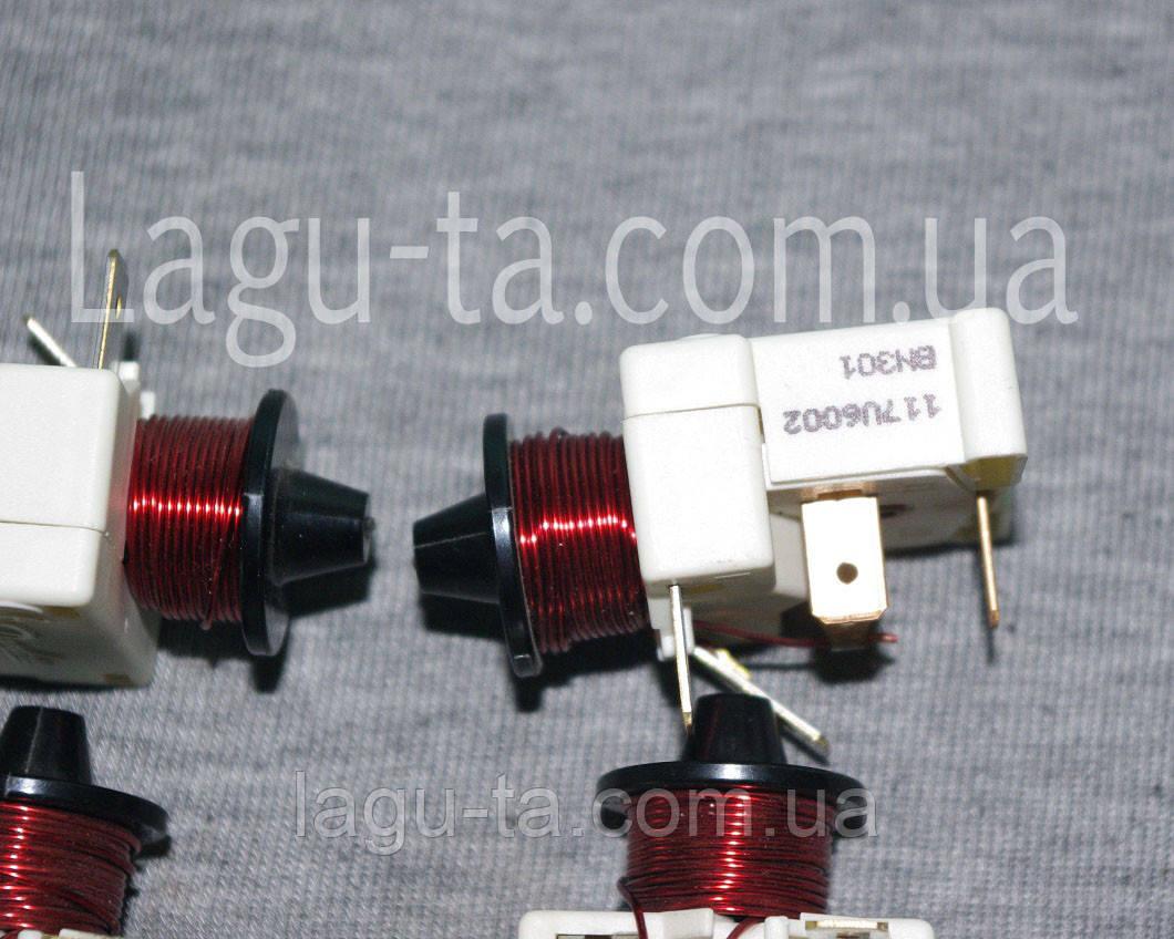 Реле пусковое компрессора Danfoss данфосс  117U6002  оригинал. Для NL11F.