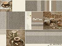 Обои виниловые супер мойка Кофейня 5738-10 коричневый + серый, фото 1
