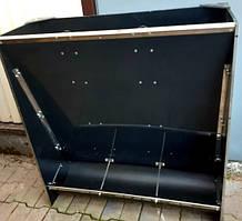 Бункерная кормушка на 3 секции для свиней