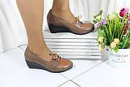Осінні жіночі туфлі на танкетці Norka 05-16-3, фото 5