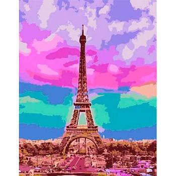 Картина раскраска по  номерам на холсте - 35*45см Rosa Premium N00013242 Город мечтаний