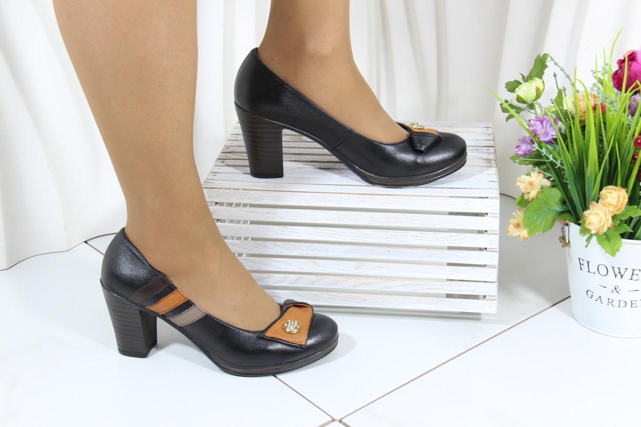Туфли женские на высоком каблуке Bender S6265-S-T-V