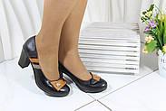 Туфли женские на высоком каблуке Bender S6265-S-T-V, фото 2