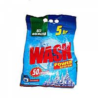 """Стиральный порошок """" Wash"""" 5 кг (50 стирок)"""
