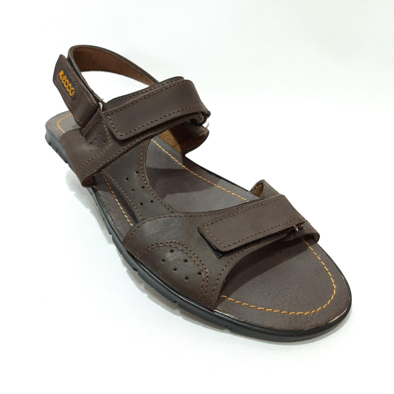 Мужские кожаные сандали (Больших размеров) р. 46 последняя пара