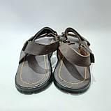 Мужские кожаные сандали (Больших размеров) р. 46 последняя пара, фото 7