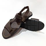 Мужские кожаные сандали (Больших размеров) р. 46 последняя пара, фото 4