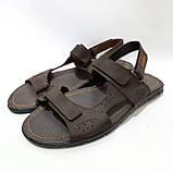 Мужские кожаные сандали (Больших размеров) р. 46 последняя пара, фото 3