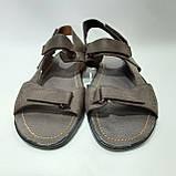 Мужские кожаные сандали (Больших размеров) р. 46 последняя пара, фото 2