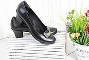 Туфли на среднем каблуке на большую ногу Bender S6170-S-D(B), фото 6