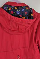 Плащик для девочки с капюшоном Размер 134, фото 3