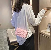 Стильная элегантная сумка клатч на цепочке, фото 3