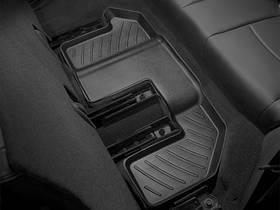 Килими гумові WeatherTech Fiat Freemont 2011-2018 третій ряд чорний