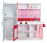 Кухня детская игровая деревянная TOBI TOYS 1002 (интерактивная кухня кухня для детей), фото 2