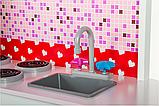 Кухня детская игровая деревянная TOBI TOYS 1002 (интерактивная кухня кухня для детей), фото 3