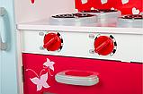 Кухня детская игровая деревянная TOBI TOYS 1002 (интерактивная кухня кухня для детей), фото 5