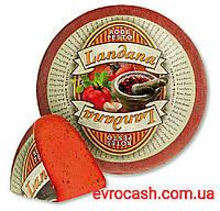 Сир ландана з червоним песто