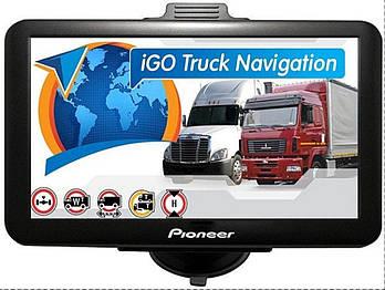 GPS навигатор Pioneer X77 с картой TRUCK EUROPE с встроенной батареей