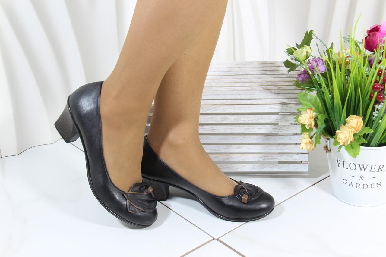 Осенние женские туфли больших размеров Bender K53-S-V(B)