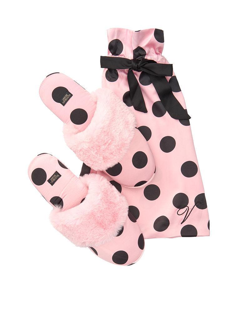 Женские тапочки Victoria's Secret art124227 (Розовый, размер M)
