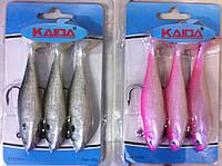 Набор виброхвостов Kaida 11см 25g 3 шт