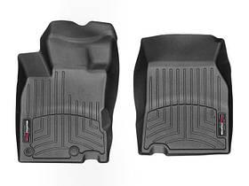 Ковры резиновые WeatherTech Renault Kadjar 2015+ передние черные