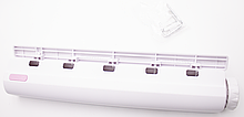 Автоматическая вытяжная настенная сушилка для белья 5 шнуров по 3,75 м каждый Белый (vol-595)