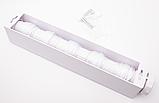 Автоматическая вытяжная настенная сушилка для белья 5 шнуров по 3,75 м каждый Белый (vol-595), фото 4